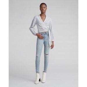 RAG & BONE Jeans High Rise Ankle Skinny Light